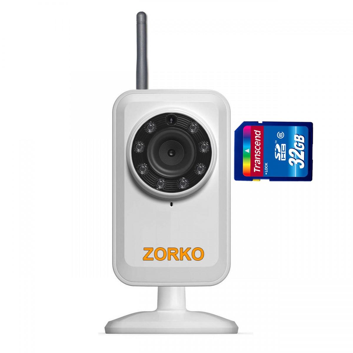 Камеры видеонаблюдения с записью на карту памяти